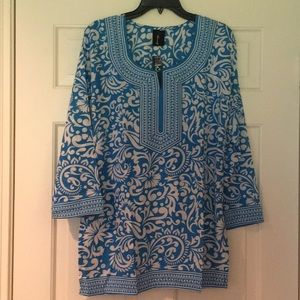 Bella Turquoise Blouse
